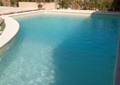 επένδυση πισίνας με Liner